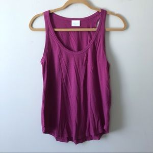 Abound Purple Tank Top Size Small NWT